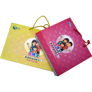 Speech training card for children