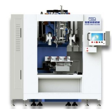 High Speed 3 Axis Short Filament Brush Machine