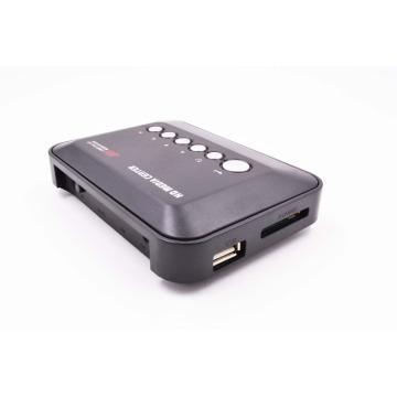 REDAMIGO Mini Full HD1080p H.264 MKV HDD HDMI Media Player Center with HDMI/AV/VGA/USB/SD/MMC with Remote controller HDDK3