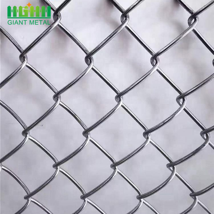 Galvanized 6ft Chain Link Fencing with Barbed Wire