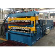 Cost Effective Metal Double Layer Aluminium Roofing Machine