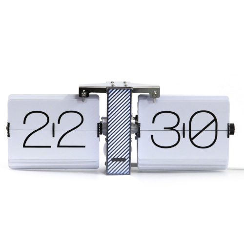 Stainless Flip Clock with Light