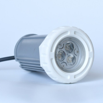 Simple Morden White Vinyl Pool Light