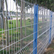 3D Curved boundary wall wire fence