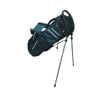 Tartan Check Design Golf Stand Bag
