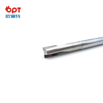 PCD v-groove end mill length cutter