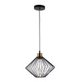 Simple Metal Mesh Cage Shade Pendant Light