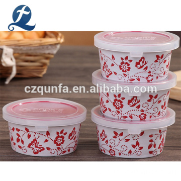 Custom Multilayer Colorful Ceramic Bakeware Set