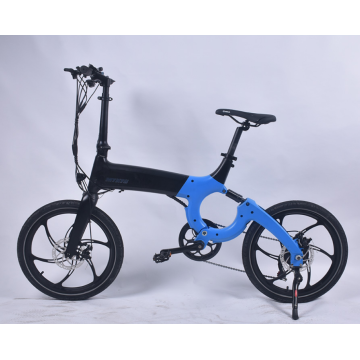 X80M-Blue  Folding electric vehicle