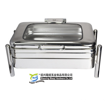 Chafing Dish with Buffet Frame Oblong Chafer
