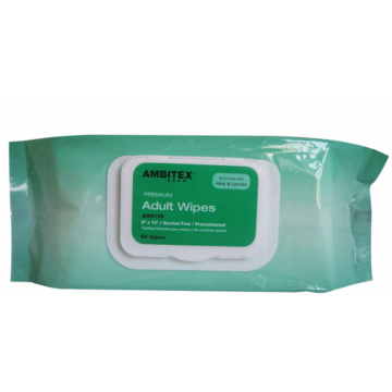 Biodegradable Non-Woven Adult Wet Cleaning Wipes