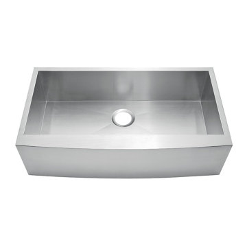 362010S Undermount Hand Made Overlap Sink