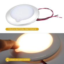 RV Roof Ceiling Cabin Light IP67 Touch Dimming Caravan Marine Interior Lamp Car Camping Auto Accessories