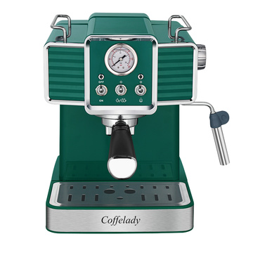 pump coffee maker with Pressure gauge