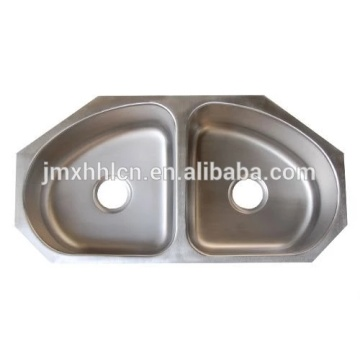 cUPC Small Size Stainless steel Corner Single Bowl