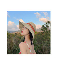 Breathable floppy lady summer straw hat