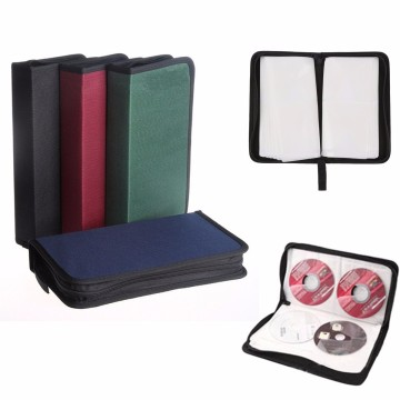 80 Disc Carry Box Holder Package Car Storage Bag Case Album DVD CD Organizer Protective Cover Home Supplies