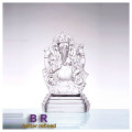 Crystal Glass Ganesh Statues For India Market