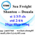 Shantou Sea Freight Shipping Agent to Douala