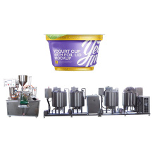 Greek Yogurt Making Processing Machine Line