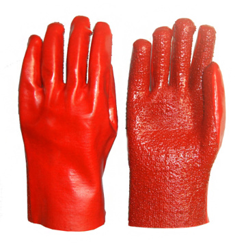 PVC Heavy Duty Terry Toweling Liner Gloves 27cm