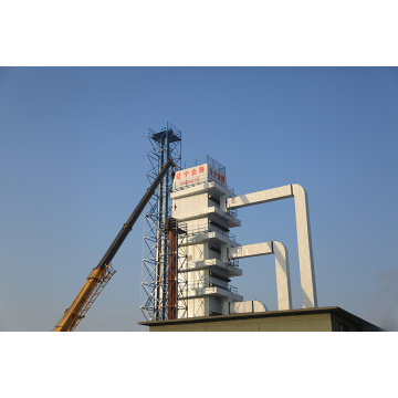 Mobile Model of Circulated Grain Dryer Machine