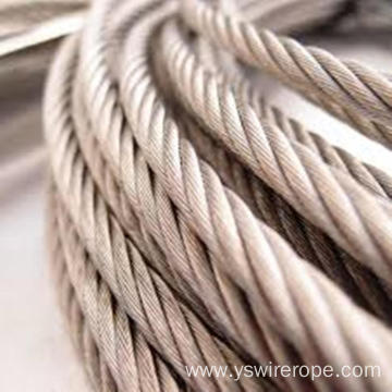 316 stainless steel wire rope 7x7 2.0mm