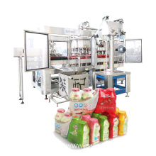 Milk Filling Machine Alumunim Foil Sealing