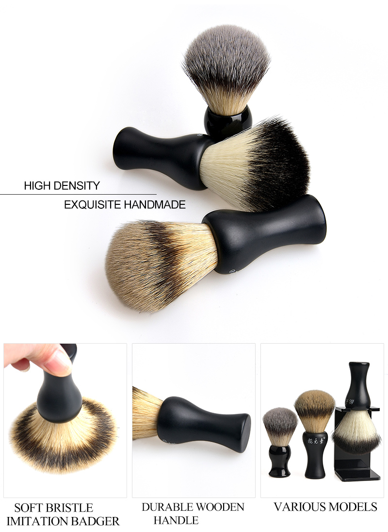 Synthetic Beard Brush 02