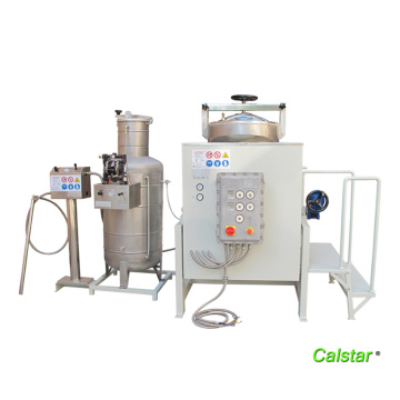 Solvent recovery machine for printing industry