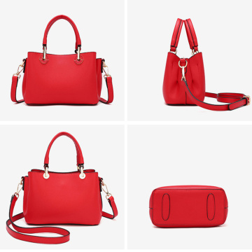 Trendy Red Tote Sling Body Bag for Women