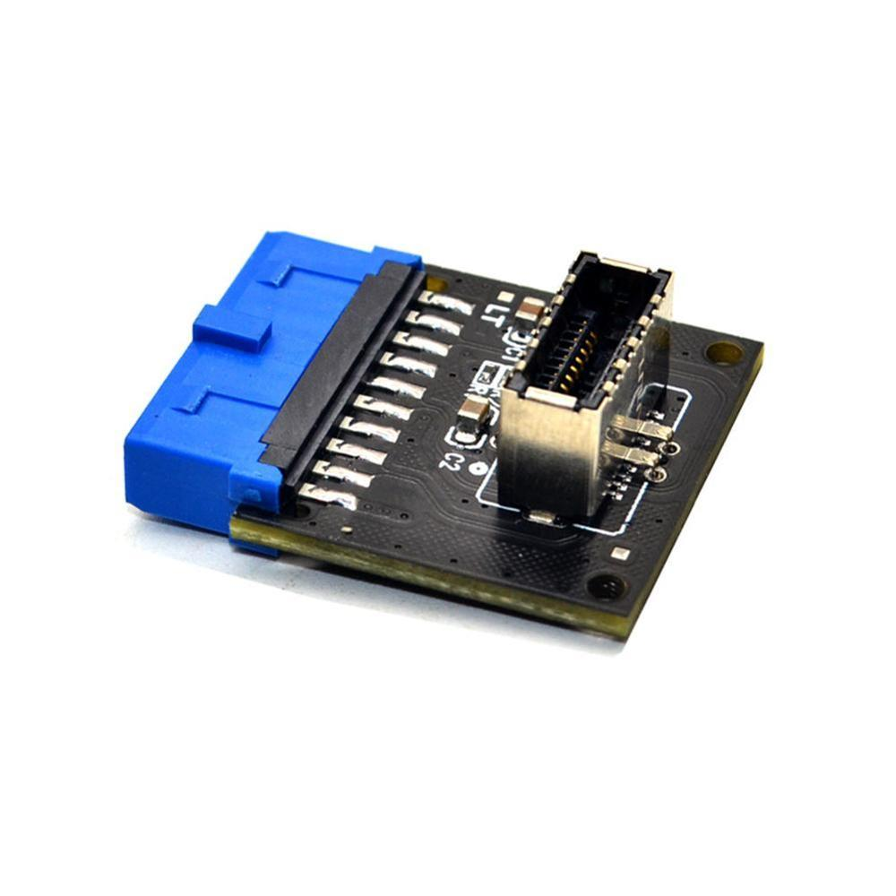Computer Connectors USB 3.1 Front Panel PC Socket to USB 3.0 20Pin Header Extension Adapter for ASUS Motherboard PW-INC1TR