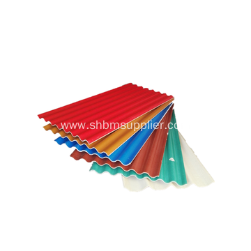 Firproof High Strength Anti-Ageing Mgo Roofing Sheet