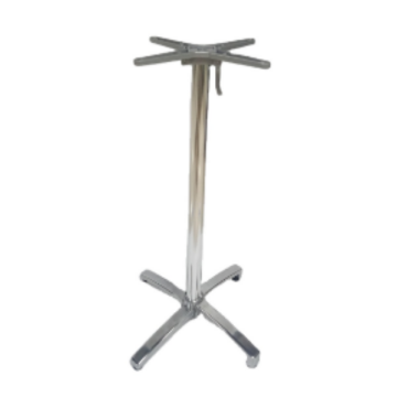 ALUMINUM HIGH AND LOW TABLE BASE