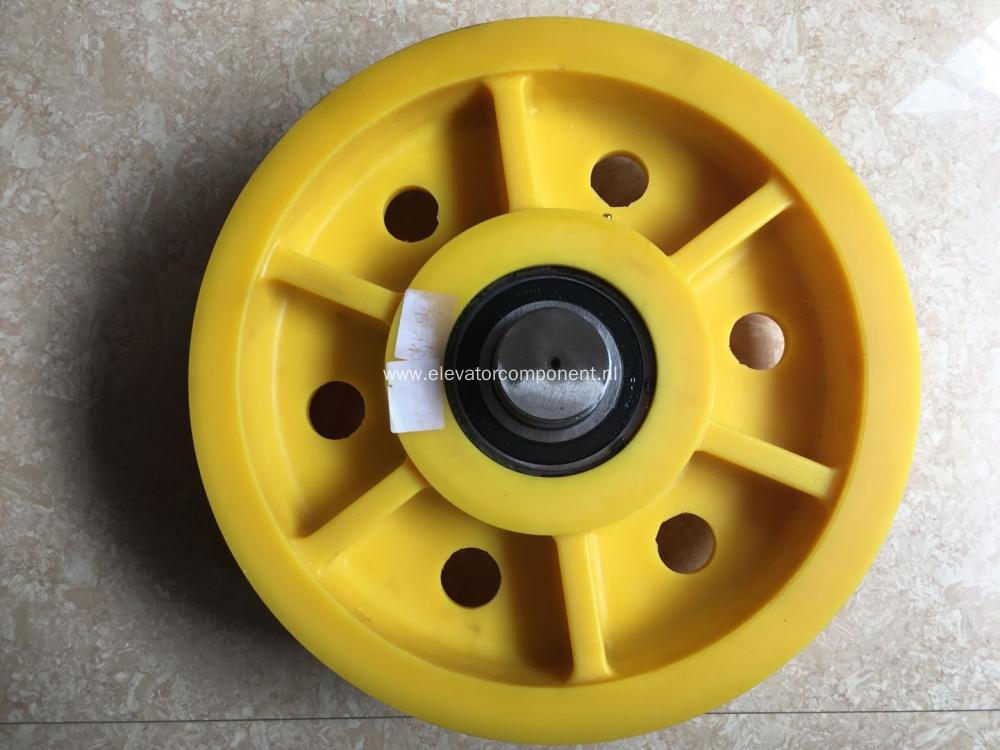 Car Top Pulley for ThyssenKrupp Elevators 410*7*8