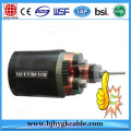 6KV Copper  XLPE Insulation PVC Sheath MV Cable