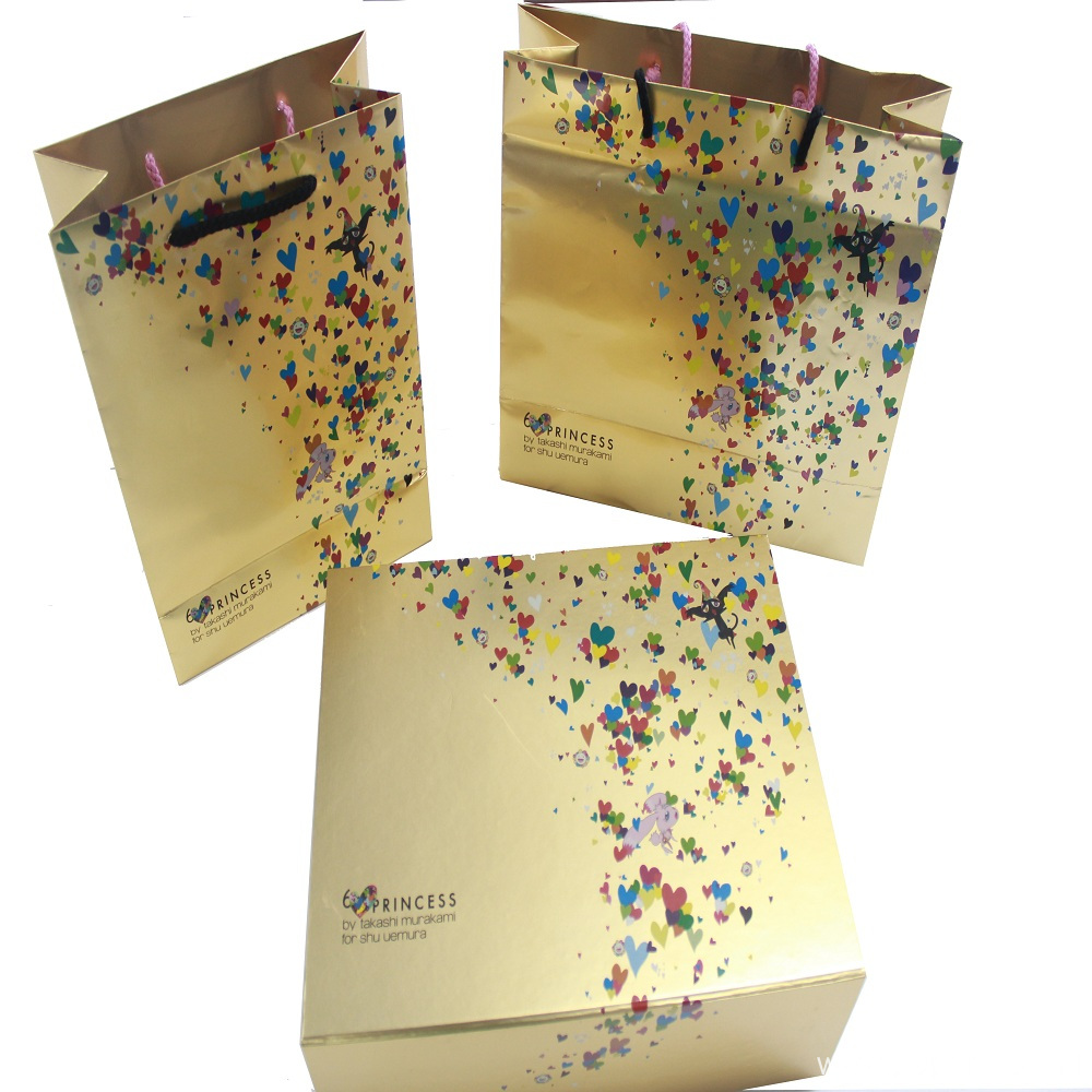 Glossy Custom Logo Shopping Bags Wholesale Price
