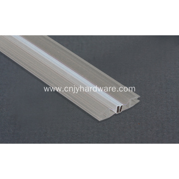 Cabin glass door shower door rubber seal