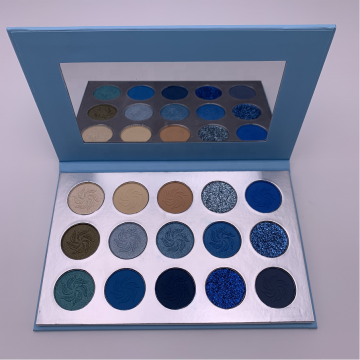 Newest pigment eyeshadow custom glitter eyeshadow palette