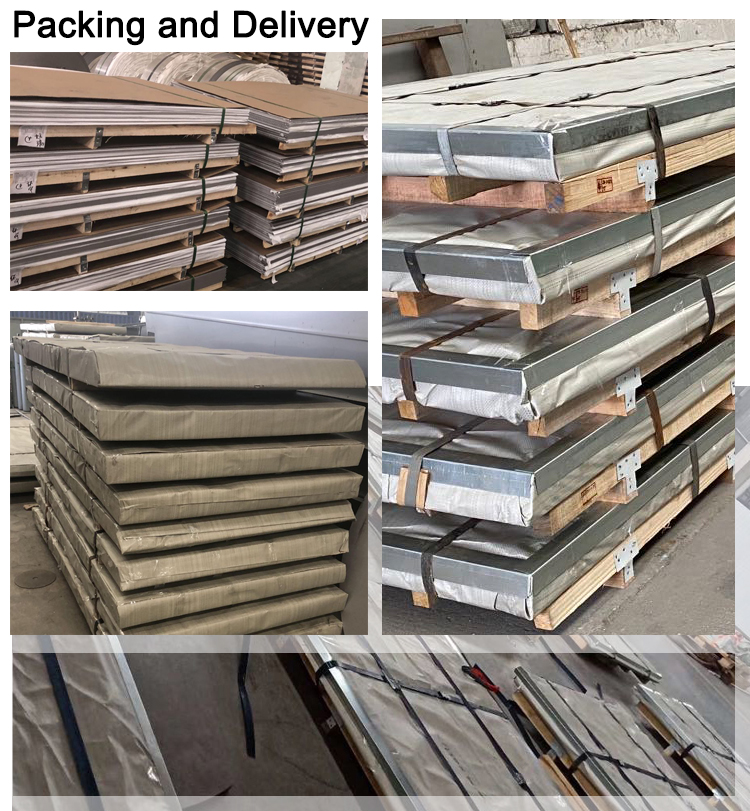 packing details of stainless steel plate