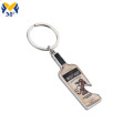 Custom  Personalized Beer Bottle Opener Keychain