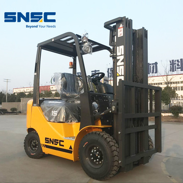 1.5 Tons Diesel Powered Forklift Price