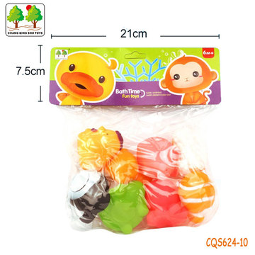 CQS624-10 CQS soft water spray toys 8PCS