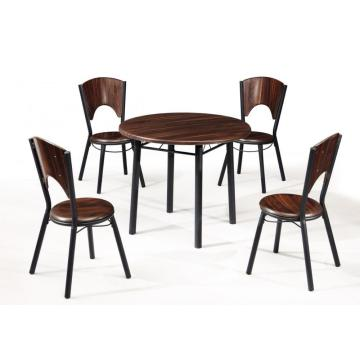 DINING TABLE SET-ROUND TABLE