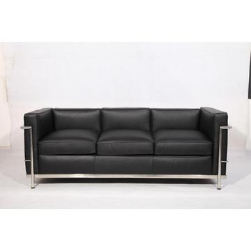 Full Grain Leather Le Corbusier LC2 Sofa Replica
