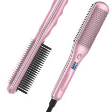 Professional philips heated straightening brush