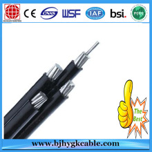 Low Voltage Twisted ABC Cable PVC Insulated Aerial Bundled Cables