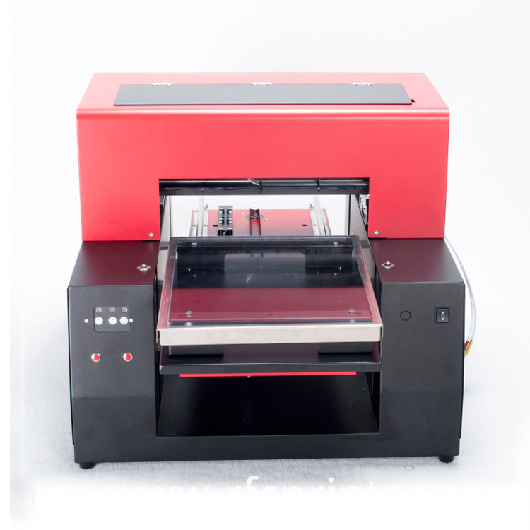 Black T-Shirt Logo Printing Machine