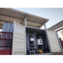 High purity oxygen gas generator