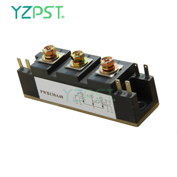 130A Dual thyristor module with amplifying gate